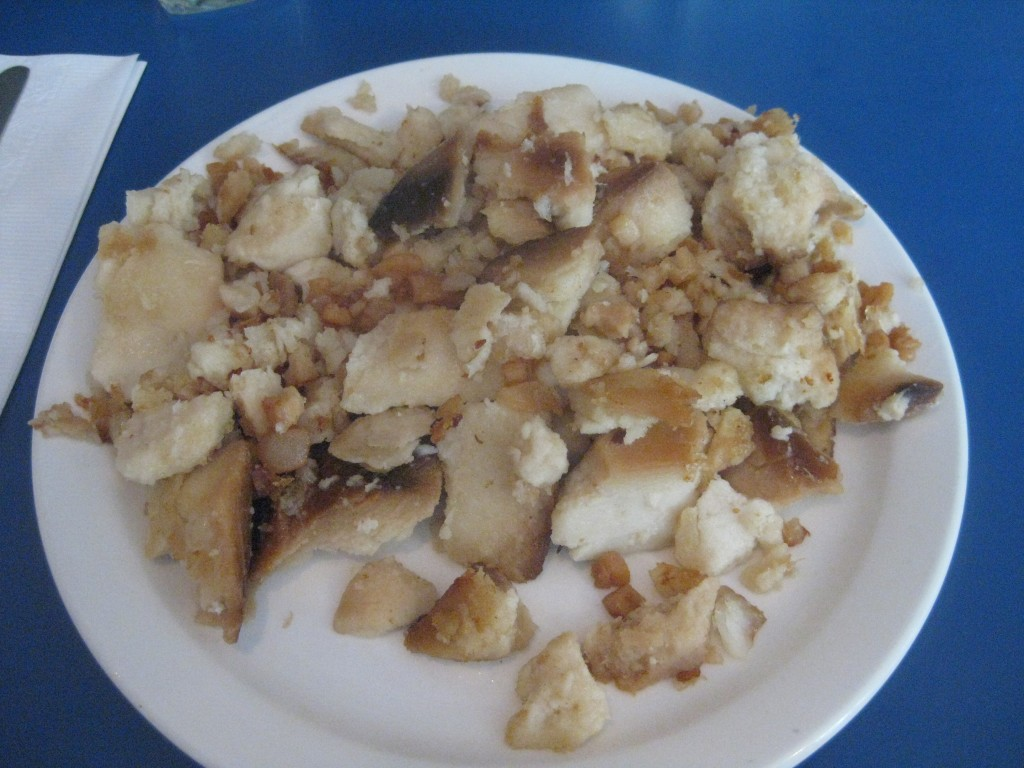 newfoundland foods - fish 'n brewis