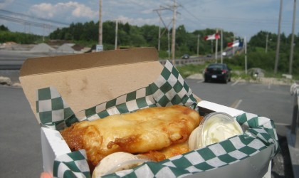 HFX Fish 'n' Chips Quest: Acadian Fish & Chips