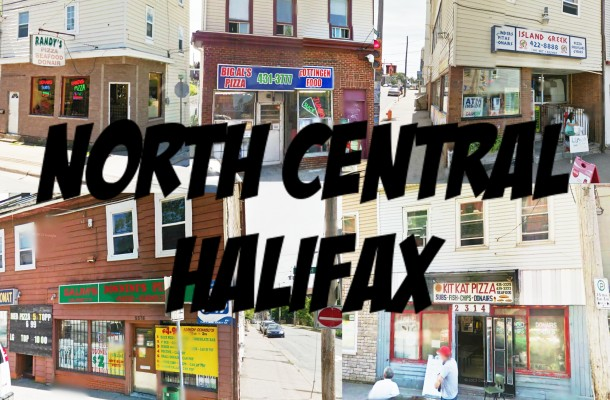 Halifax Pizza Quest: North Central Halifax