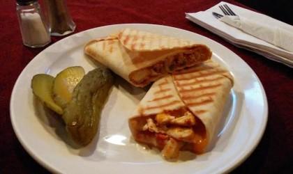 Sandwich Showcase: Blackened Chicken Panini at Tom's Little Havana