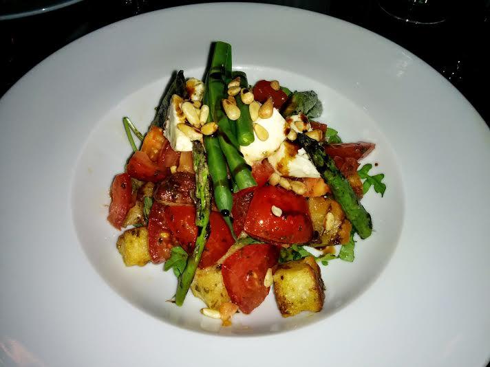 Panzanella salad at The Bicycle Thief