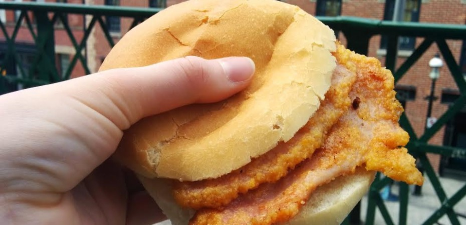 Toronto: St. Lawrence Market Peameal Bacon Sandwiches