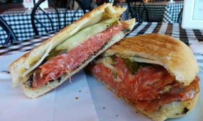 Sandwich Showcase: Vesuvius Sandwich at The Italian Market