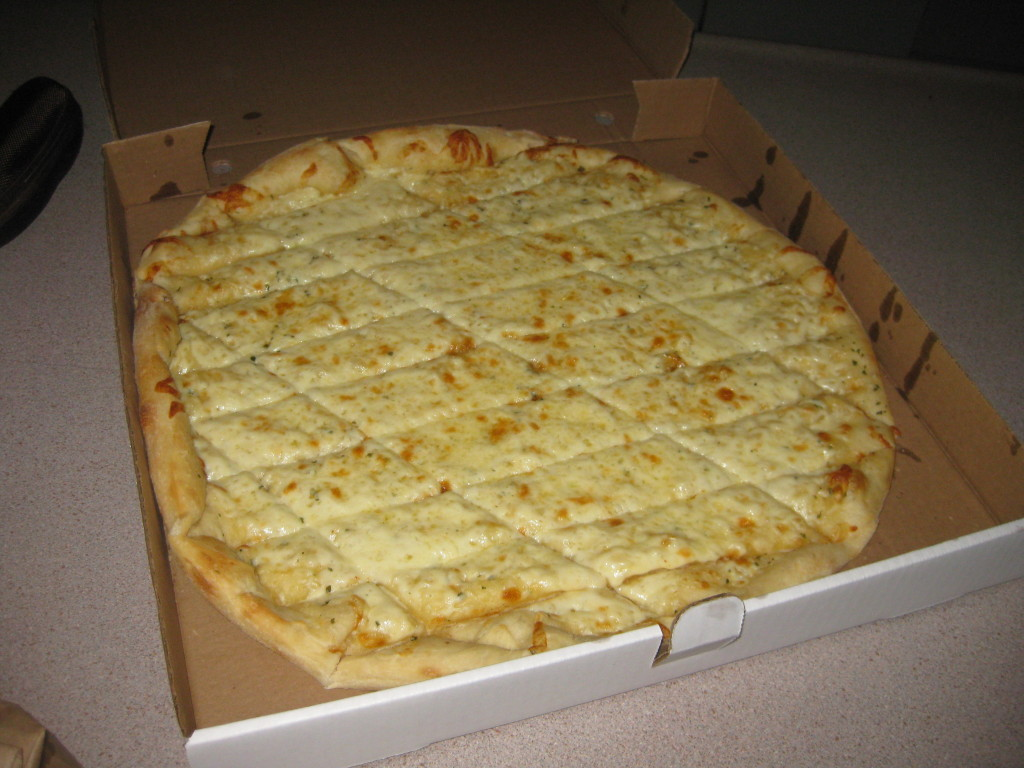 Metro Pizza: my go-to garlic fingers for delivery