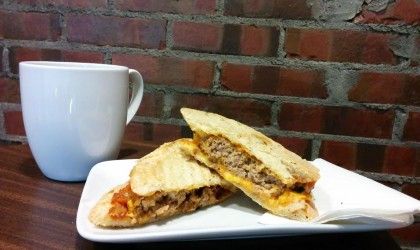 Sandwich Showcase: Meatball Panini from Ciboulette