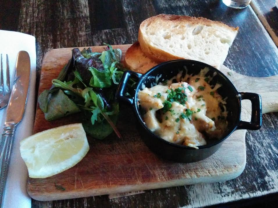 Smoked haddock dish from The Winding Stair (Dublin)