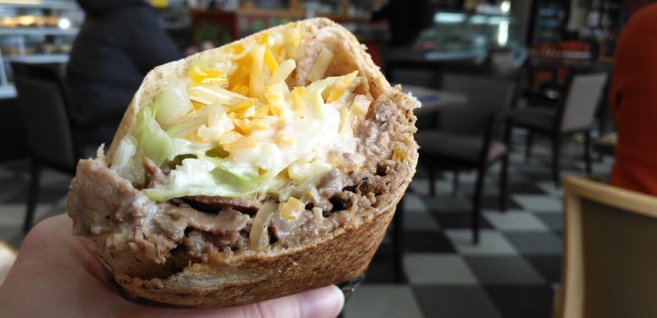 Sandwich Showcase: Philly Steak Pita at Tarek's