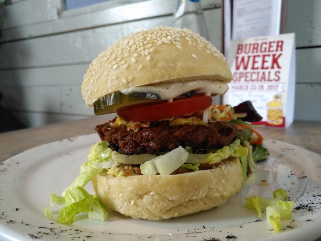 EnVie pb burger week 5