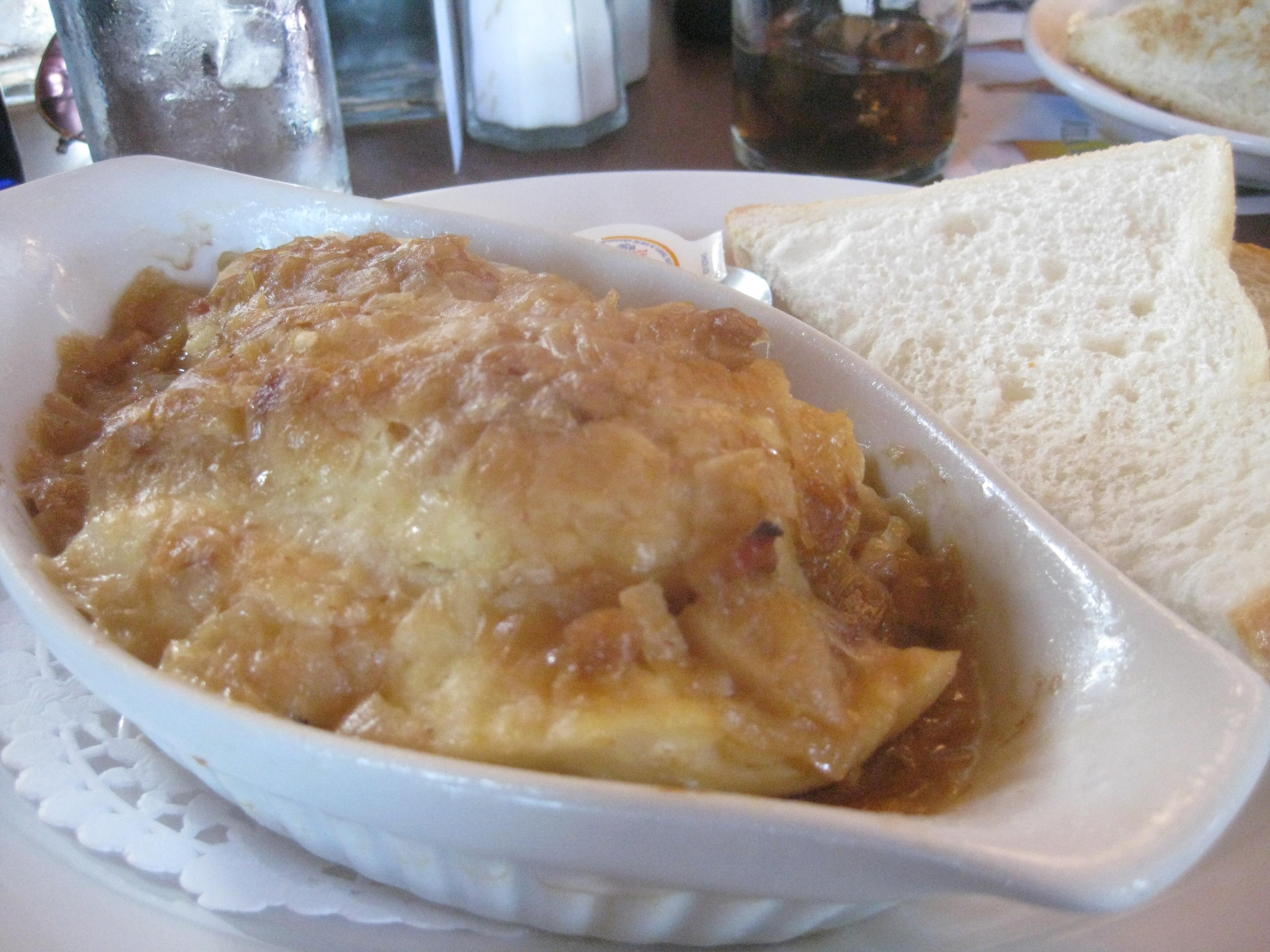 newfoundland foods - cod au gratin
