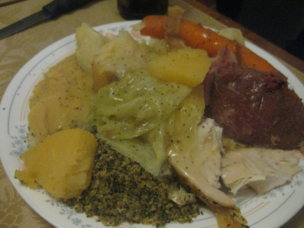newfoundland foods - jiggs dinner