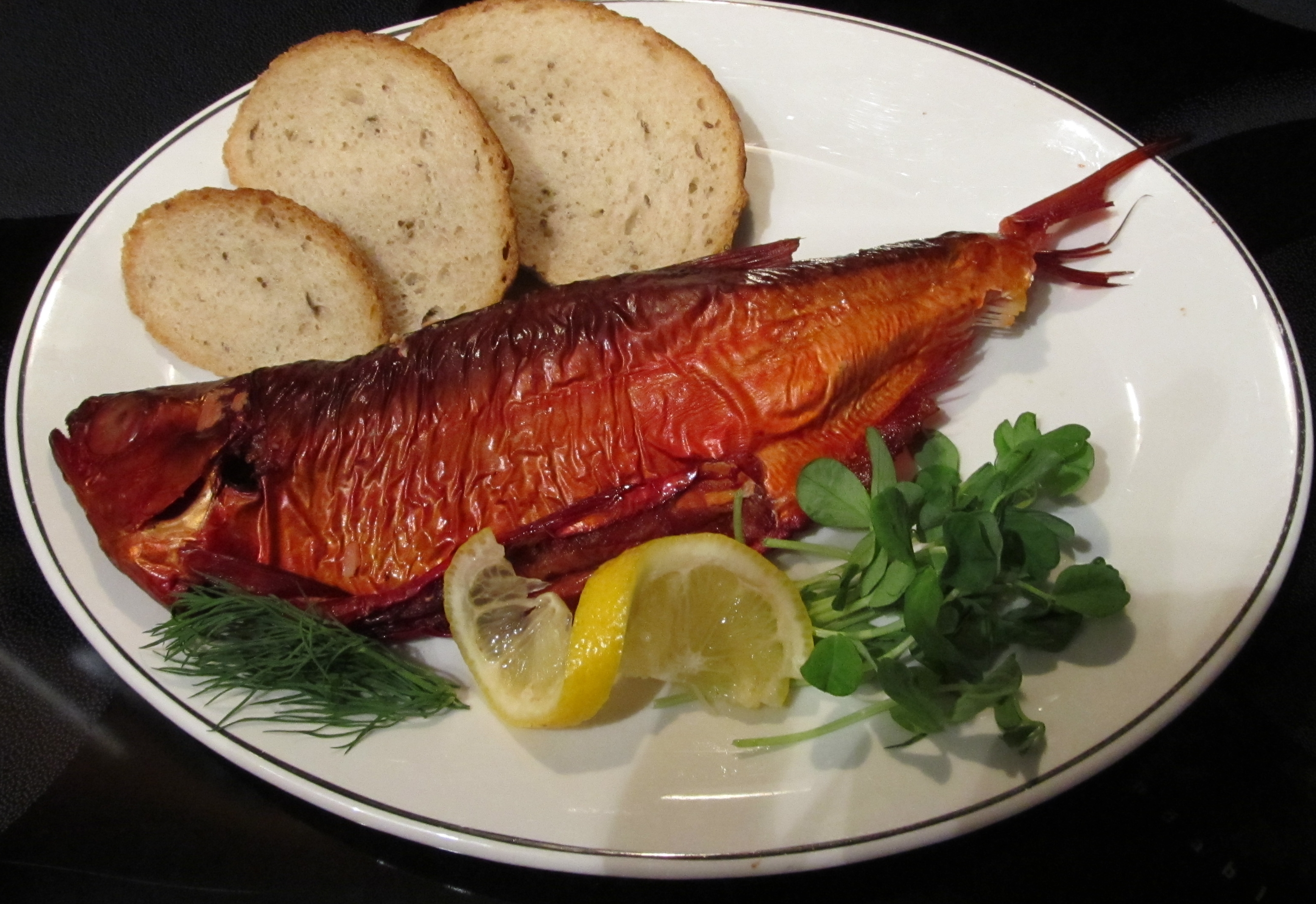 Foods of Manitoba - smoked goldeye