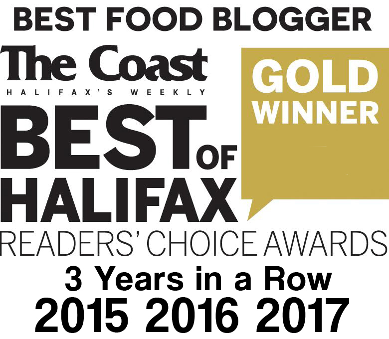 Best Food Blogger 2015 2106 2017 Halifax