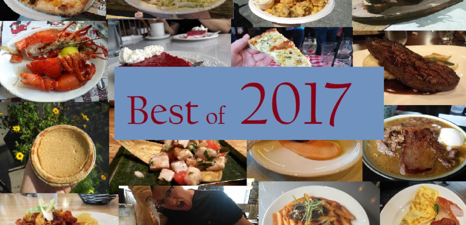 Best Meals of 2017