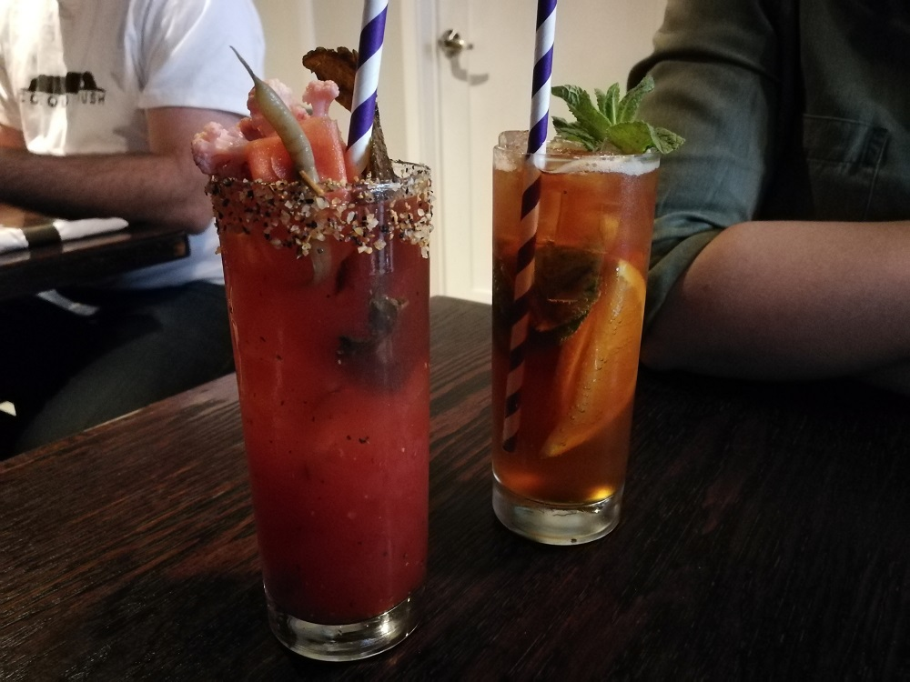 brunch at the Black Sheep - Halifax