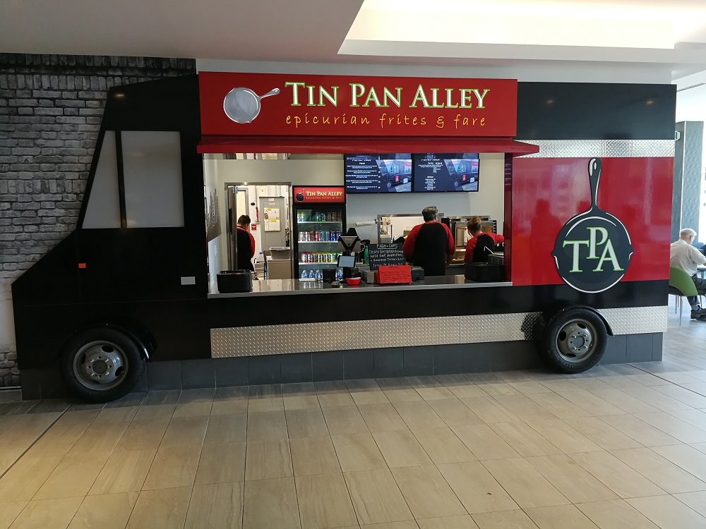 Tin Pan Alley in Scotia Square Food Court