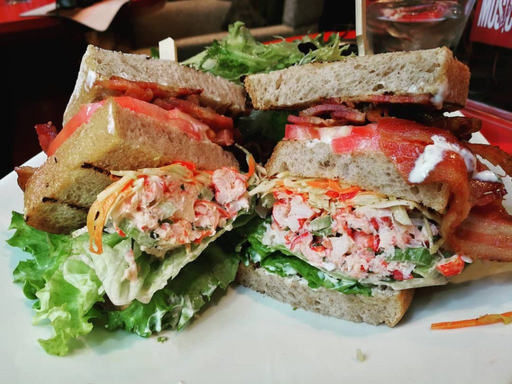 Harbourstone Lobster Clubhouse Sandwich