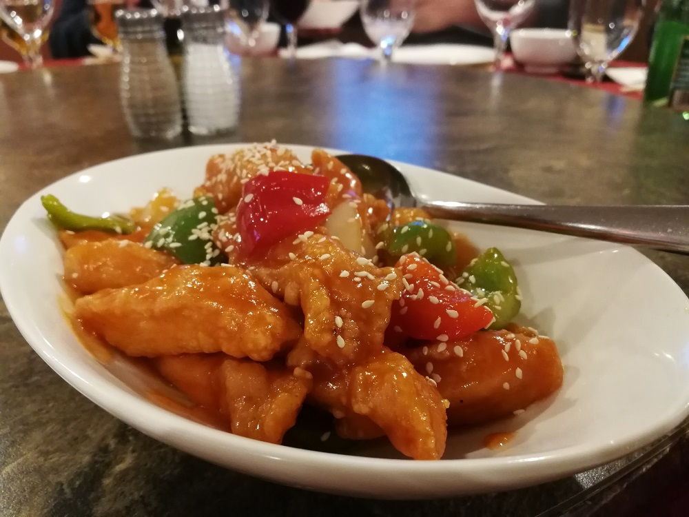 The Orient's Sweet & Sour Chicken (Chinese food in Halifax)