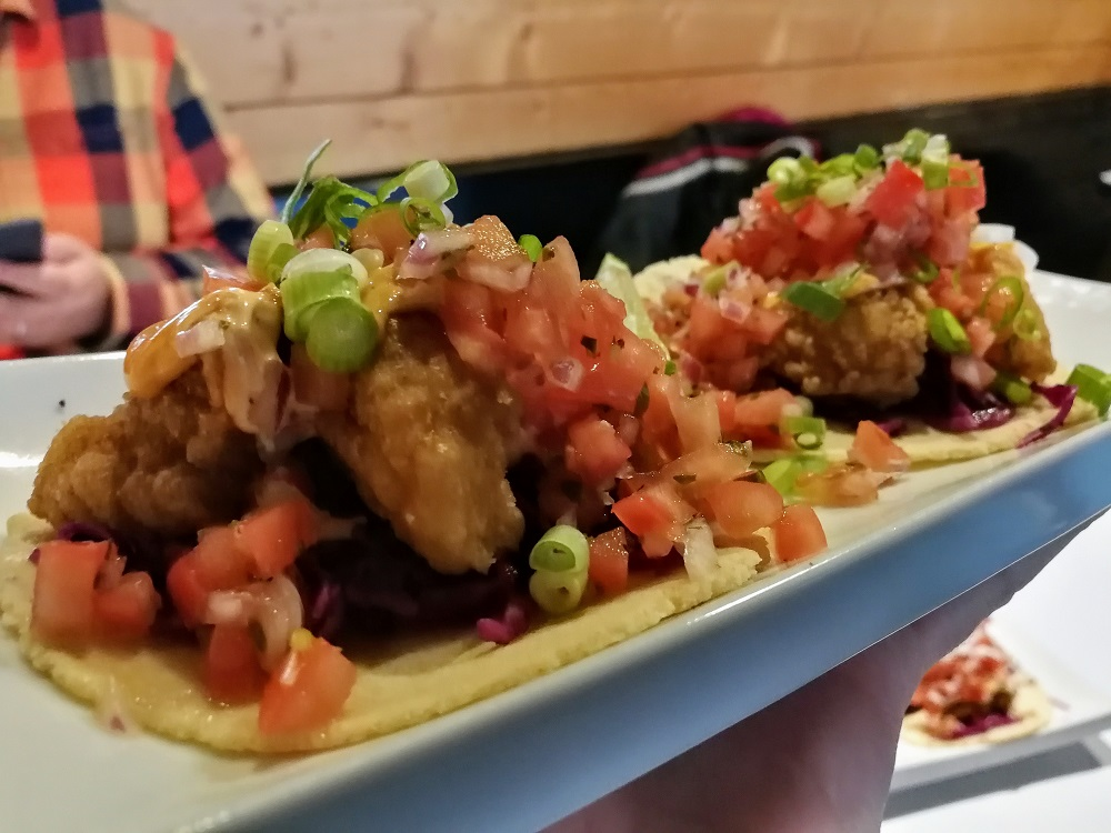 Fish Tacos at El Chino - Best Tacos in Halifax