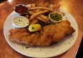 Fish and Chips at the Brown Hound