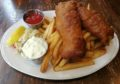 Fish and Chips at The Old Triangle